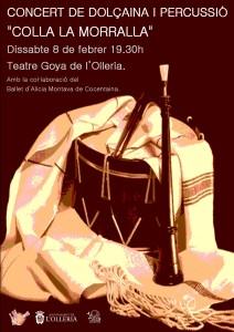 Cartell Concert de la Morralla
