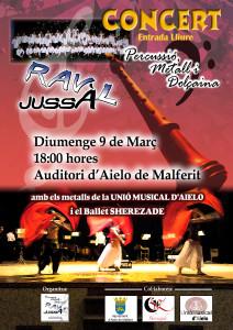 cartell concert Aielo-lliure
