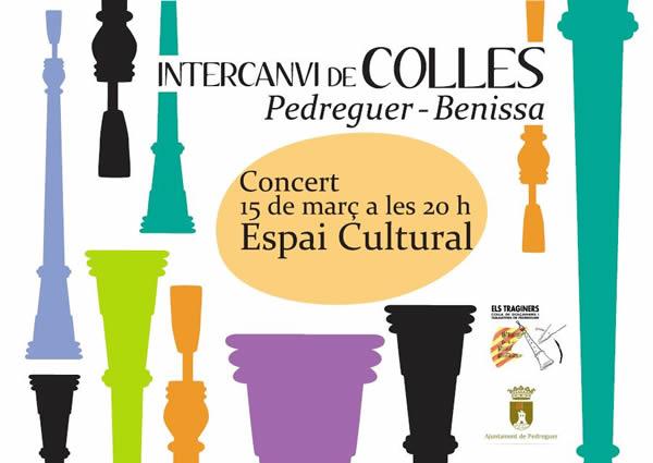concert d'intercanvi colles pedreguer - benissa