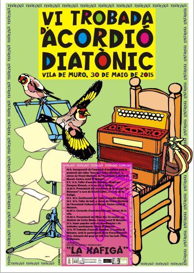 cartel acordeon